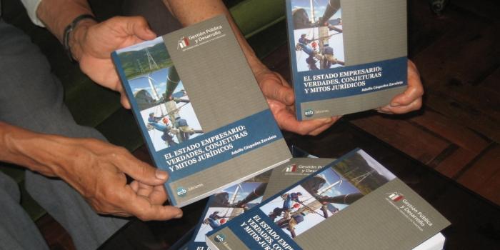 """""""El Estado empresario"""", un libro ideal para profundizar en la actividad empresarial del Estado peruano"""