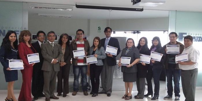 Felicitaciones a los primeros puestos en Chiclayo y Lima de los cursos sobre la actividad empresarial estatal