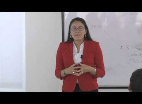 Video sobre el funcionamiento de las empresas estatales del Perú, con la Dra. Juana Rosa Terrazos