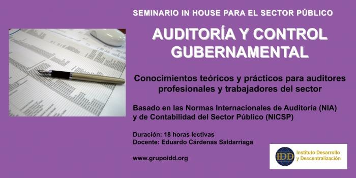 Auditoría y Control Gubernamental
